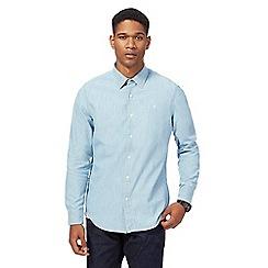 G-Star - Light blue chambray slim fit shirt