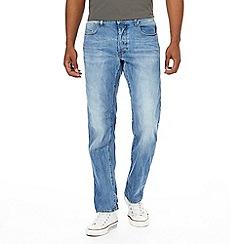 G-Star - Blue straight jeans