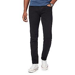 G-Star - Black '3301' slim fit jeans