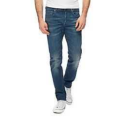 G-Star - Blue '3301' slim jeans