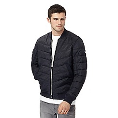 G-Star - Navy quilted bomber jacket
