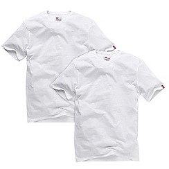 Levi's - Pack of two white crew neck t-shirts