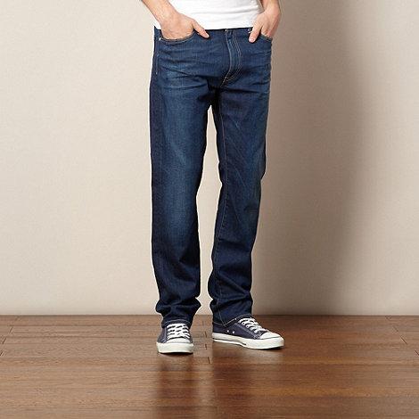 Levi+s - 513 blue slim fit jeans