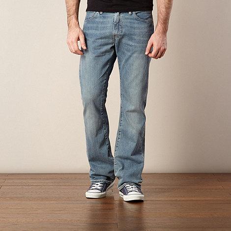 Levi+s - 527&#8482 blue bootcut jeans