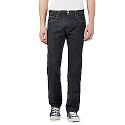 Levi's - 504&#8482 high def navy straight leg jeans