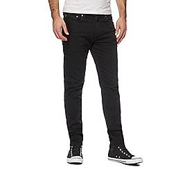 Levi's - Black '512' slim tapered jeans