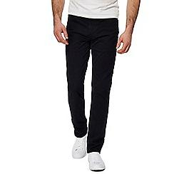 Levi's - Big and tall black '511' slim twill trousers