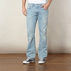 Levi's - 527&#8482 light blue vintage wash bootcut jeans