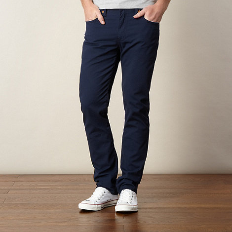 Levi+s - 511 navy fine cord trousers