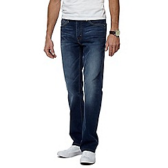 Levi's - Big and tall blue 514 straight leg jeans