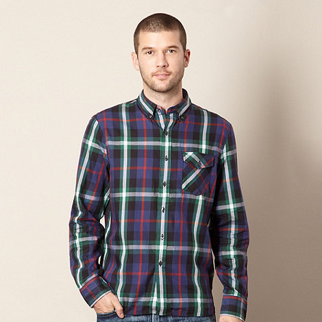 Levi+s - Green bart checked shirt