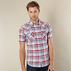 Levi's - Barstow red western checked shirt
