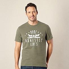 Levi's - Dark green horse logo t-shirt
