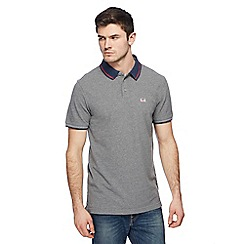 Levi's - Grey tipped polo shirt