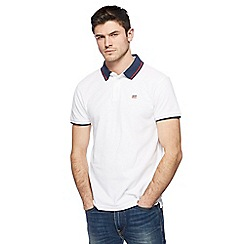 Levi's - White tipped polo shirt