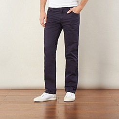 Wrangler - Navy blue Texas Stretch trousers