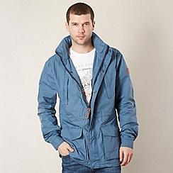 Wrangler - Blue zip front jacket