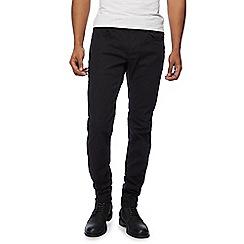 G-Star - Black '3301' tapered jeans