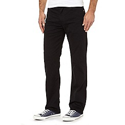 Levi's - 751&#8482 twill black straight leg jeans