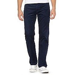 Levi's - 751&#8482 navy cord trousers