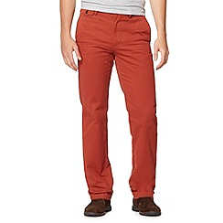 Dockers - Orange slim fit trousers