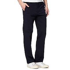 Dockers - Navy slim fit trousers