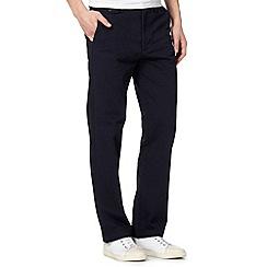 Dockers - Navy slim fit trousers