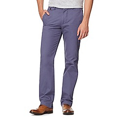 Dockers - Big and tall blue slim fit trousers
