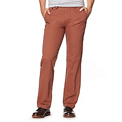 Dockers - Brown slim fit trousers