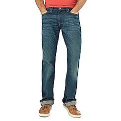 Levi's - 527&#8482 explorer vintage wash blue slim bootcut jeans