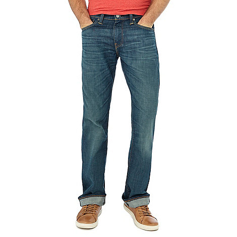 527tm slim bootcut jeans explorer