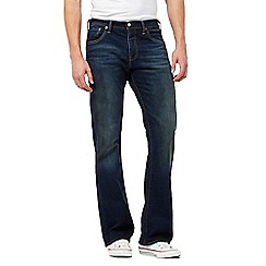 Levi's - 527&#8482 green edge blue dark wash bootcut jeans