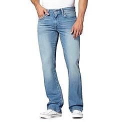 Levi's - 527&#8482 duke short vintage wash light blue bootcut jeans