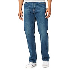 Levi's - 751&#8482 brother blue vintage wash straight leg jeans