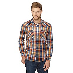 Levi's - Barstow blue multi checked shirt