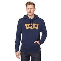 Levi's - Navy logo hoodie