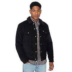 Levi's - Black bomber turtle neck jacket
