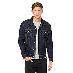 Levi's - Dark blue trucker denim jacket