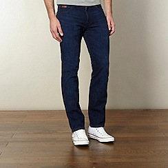 Wrangler - Arizona blue like linen straight leg jeans