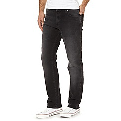 Wrangler - Texas gravel grey straight leg jeans