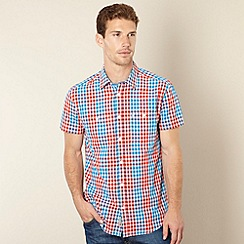 Wrangler - Red checked two pocket shirt