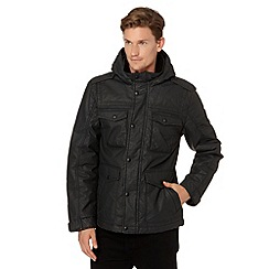 Wrangler - Big and tall black water resistant envy field jacket