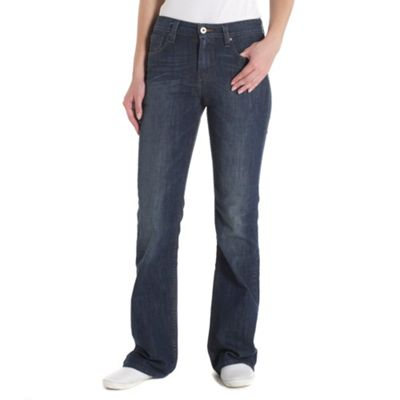 Blue high waist bootcut more jeans