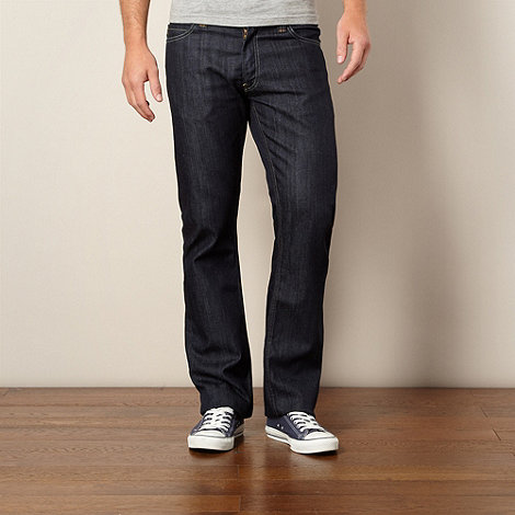 Levi+s - 506&#8482 worn once dark blue straight leg jeans