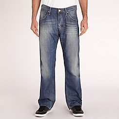 Wrangler - Light blue 'Ace Bonville' regular jeans