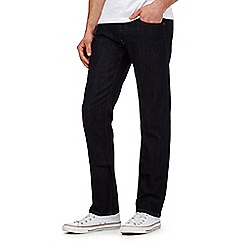 Lee - Darren dark blue rinse straight jeans