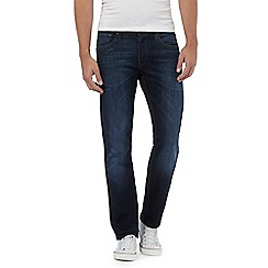 Lee - Blue rinse wash 'Daren' straight leg jeans