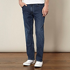 Lee - Brooklyn easy daze blue straight leg rinse wash jeans