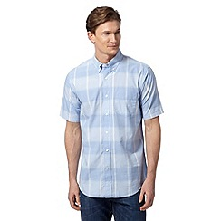 Dockers - Light blue large checked shirt