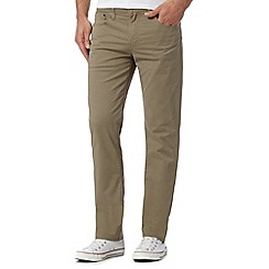 Levi's - 511&#8482 beige stretch comfort slim fit jeans